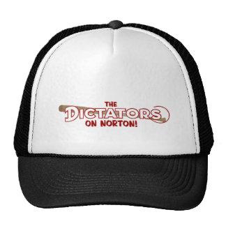 the dictators punk rock trucker hat