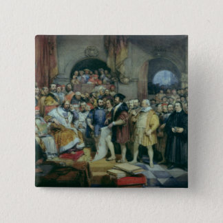The Diet of Spires, 19 April, 1529 Pinback Button