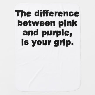 The Difference Between Pink and Purple Blanket Swaddle Blankets
