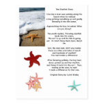 postcards, ocean, starfish, little, boy,