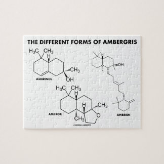 The Different Forms Of Ambergris (Molecules) Jigsaw Puzzle