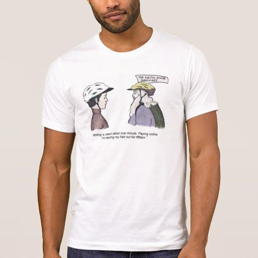 The Digital Divide Subdivides T Shirts