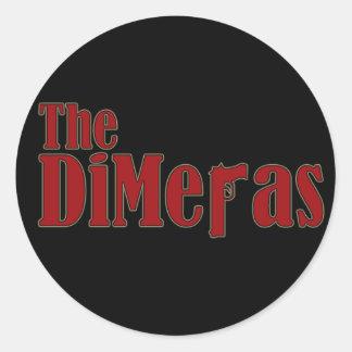"""""""The DiMeras"""" Stickers (Round)"""