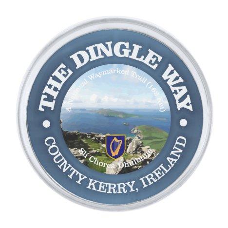 The Dingle Way Silver Finish Lapel Pin