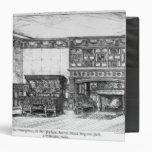 The Dining Room at the Poplars Vinyl Binder