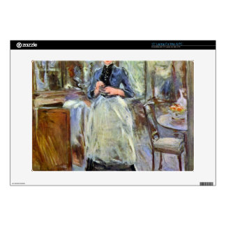 The Dining Room by Berthe Morisot Laptop Decal