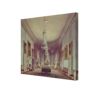 The Dining Room, Frogmore Canvas Print
