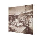 The Dining Room, Wickham Hall, Kent, 1897 Canvas Prints