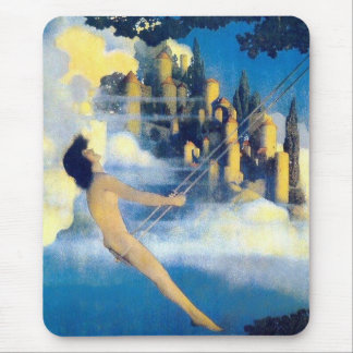 The Dinky Bird, Maxfield Parrish Mouse Pad