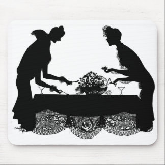 """""""The Dinner Party"""" Mouse Pad"""