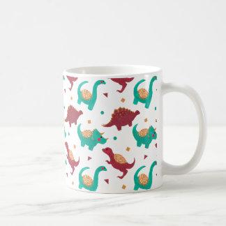 The Dinosaurs Pattern Coffee Mug
