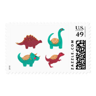 The Dinosaurs Postage