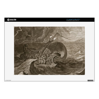 The Dioscuri Protect a Ship, 1731 (engraving) Decals For Laptops