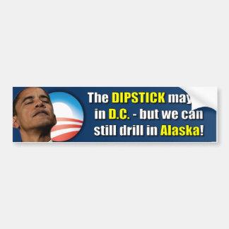 The Dipstick lives in D.C. Bumper Sticker
