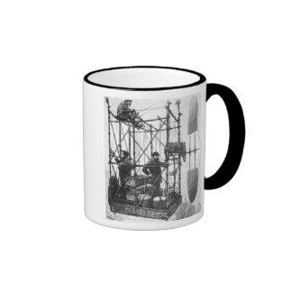 The Dirigible Ringer Coffee Mug