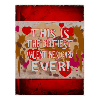 The Dirtiest Valentine's Card Ever!