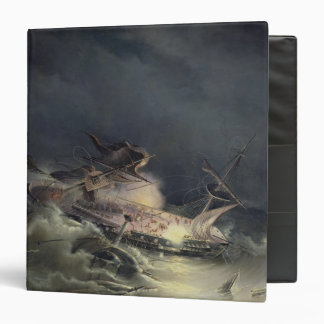 The disaster of the Liner Ingermanland 3 Ring Binder