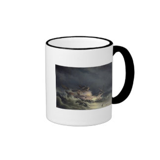 The disaster of the Liner Ingermanland Coffee Mugs