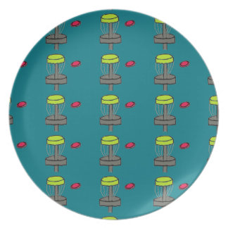 The disc golf basket image disc golf plate