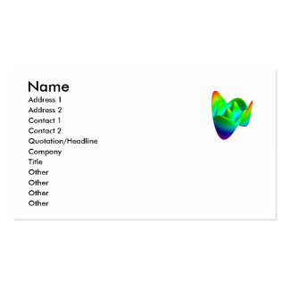 The disc polynomials of Frits Zernike Double-Sided Standard Business Cards (Pack Of 100)