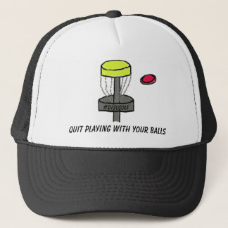 The #DiscGolf Quit Playing with your Balls hat