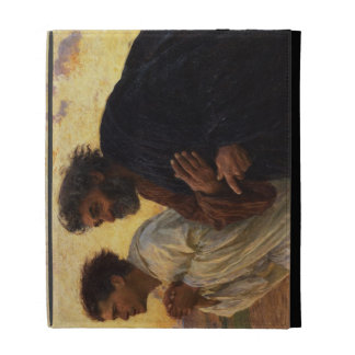 The Disciples Peter and John Running iPad Folio Cover