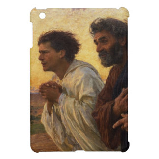 The Disciples Peter and John Running iPad Mini Covers