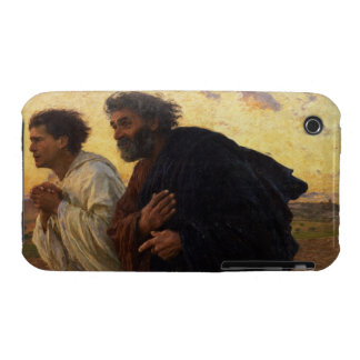 The Disciples Peter and John Running iPhone 3 Case-Mate Cases