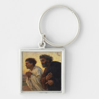 The Disciples Peter and John Running Key Chains