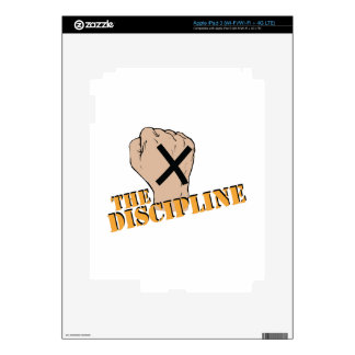 The Discipline iPad 3 Decal