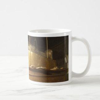 the discovery classic white coffee mug