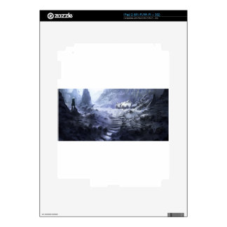 The Discovery Of A New Civilization iPad 2 Skin