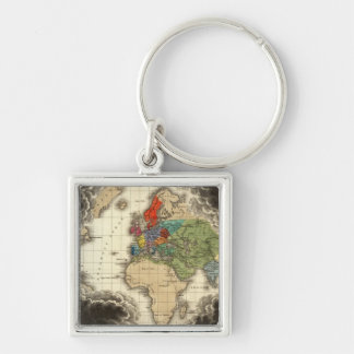 The Discovery of America 1498 AD Keychain