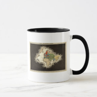 The Discovery of America 1498 AD Mug