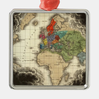 The Discovery of America 1498 AD Christmas Tree Ornament