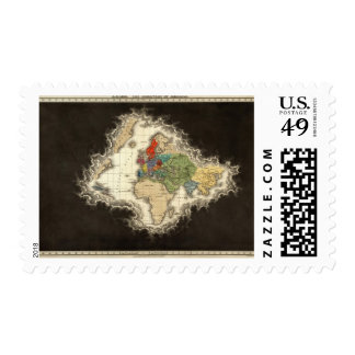The Discovery of America 1498 AD Postage