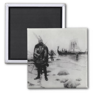 The Discovery of America by Leif Eriksson Refrigerator Magnet