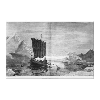 The Discovery of Greenland Canvas Print