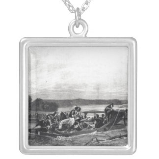The Discovery of the Mississippi by de Soto Pendant