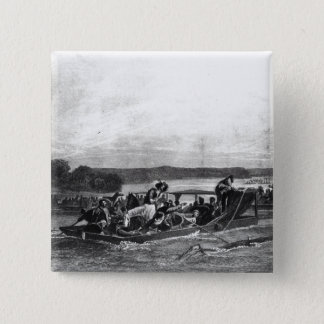The Discovery of the Mississippi by de Soto Pinback Button