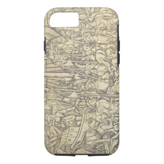 The Discovery of the New World by Chrisopher Colum iPhone 7 Case