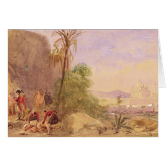The discovery of Tipu's body at the Water Gate at Card