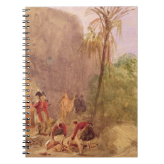The discovery of Tipu's body at the Water Gate at Notebook