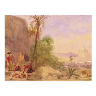 The discovery of Tipu's body at the Water Gate at Postcard