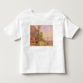 The discovery of Tipu's body at the Water Gate at Toddler T-shirt