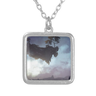 The Discovery Of Unscene Silver Plated Necklace