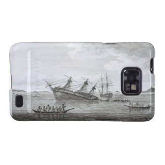 The Discovery on the Rocks in Queen Charlotte's So Samsung Galaxy S2 Covers