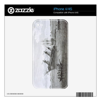 The Discovery on the Rocks in Queen Charlotte's So iPhone 4 Skin