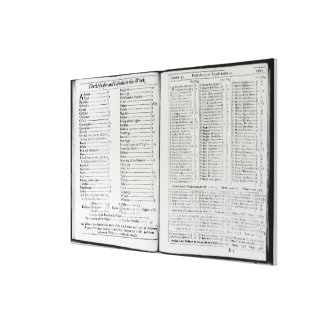 The Diseases and Casualties this Week Canvas Print