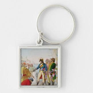 The Disembarkation of Napoleon  at Alexandria Keychain